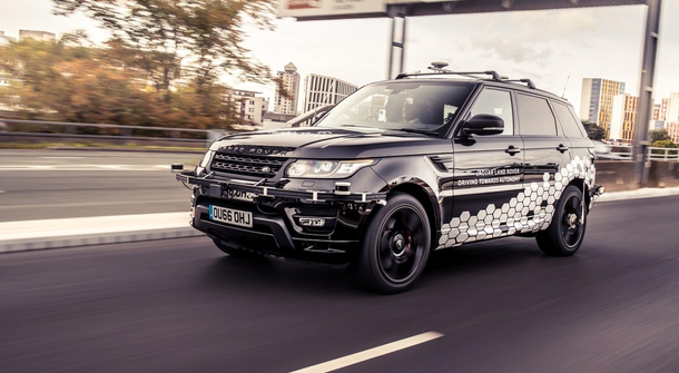 Range Rover Sport autonomously handled the Coventry Ring Road