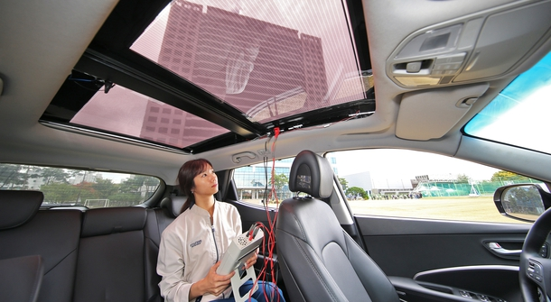 Hyundai is developing a solar charging system technology for vehicles