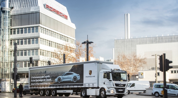 MAN to equip Porsche with electric truck
