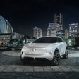 First photos of Infiniti electric crossover unveiled
