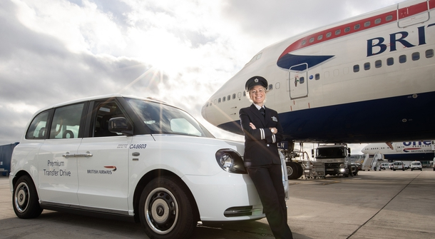 LEVC TX taxis now a part of Heathrow airport