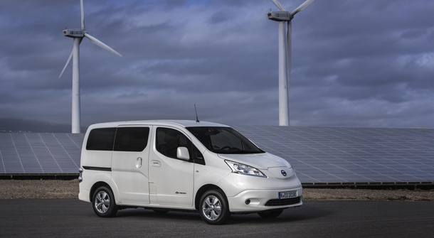 Nissan  will produce only electric e-NV2000 from summer
