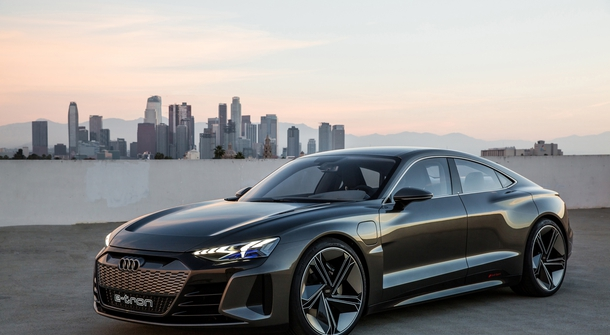 Audi E-Tron GT became first electric car to be advertised during Super Bowl