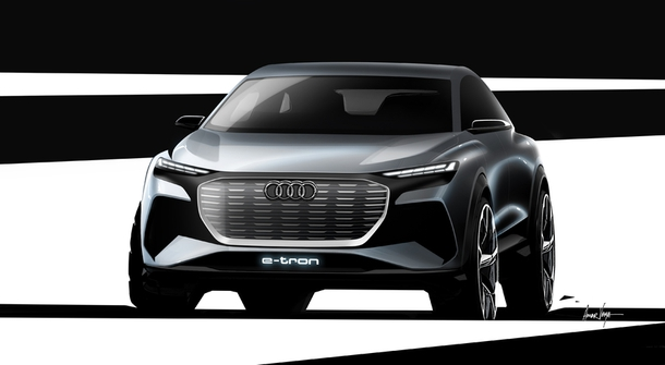 The Q4 e-tron will be an electric version of the Audi Q3