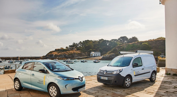 Renault remains Europe's number one electric car manufacturer