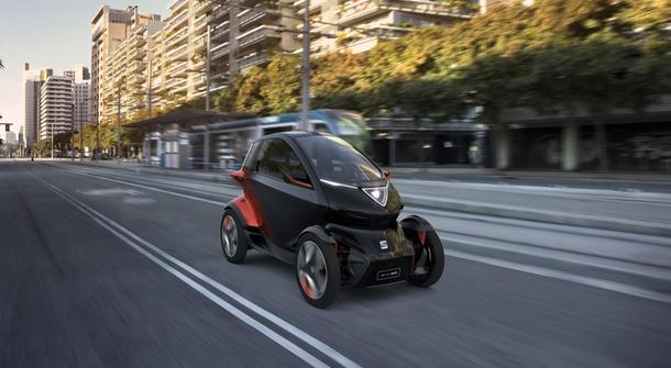 Seat Minimo announces the future of personal urban mobility