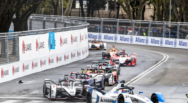 Formula E, Rome e-prix: first victory for Evans and Jaguar