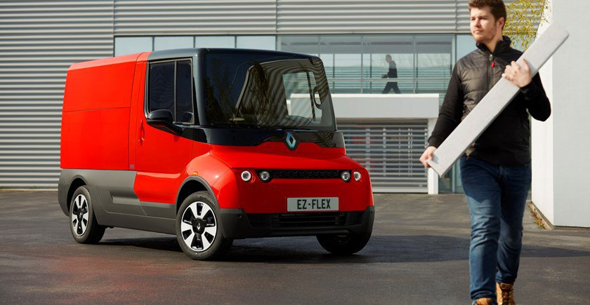 Renault preparing for deliveries of the future - Driving - Plugin