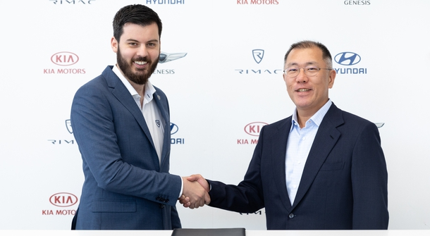 Rimac and Hyundai new partners in e-mobility