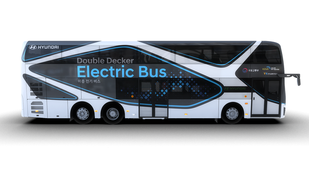 This is the first electric double decker and its made by Hyundai