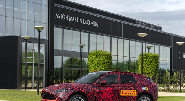 Aston Martin has opened its 'electric' plant
