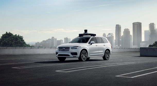 Volvo and Uber presented first production ready utonomus car