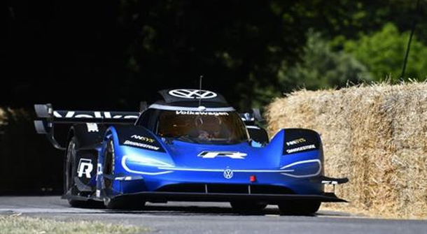Volkswagen ID.R now the fastest at Festival of Speed