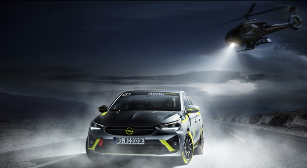 Opel is presenting first factory-backed e-motorsport series