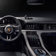 Porsche Taycan is revealed... from the inside