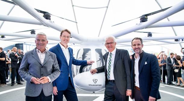 First 'Mercedes-Benz' has been skyborne