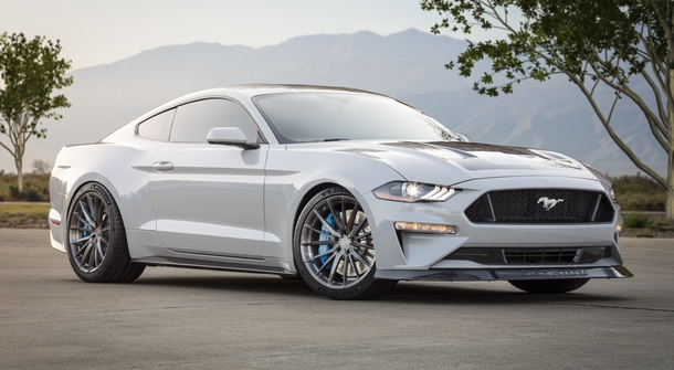Ford Mustang mixing the best of old an new