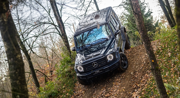 Mercedes-Benz G_class goes electric