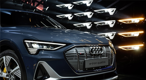 Audi's e-tron is becoming sportier