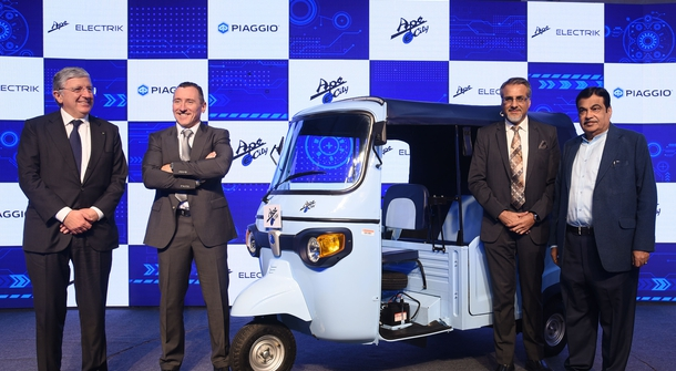 Piaggio taking on Indian EV market