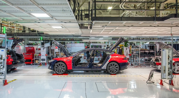 At last, Tesla is also clossing its Freemont factory