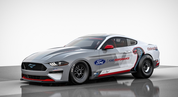Ford has built the ultimate electric drag racing car